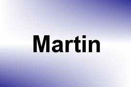 Martin name image