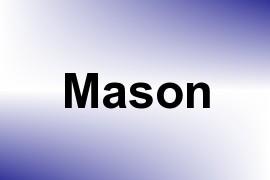 Mason name image