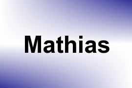 Mathias name image