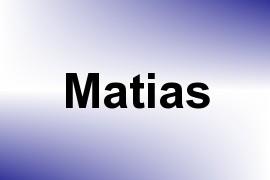 Matias name image