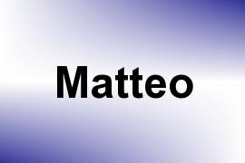 Matteo name image