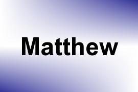 Matthew name image