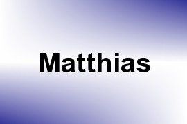 Matthias name image