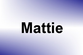 Mattie name image