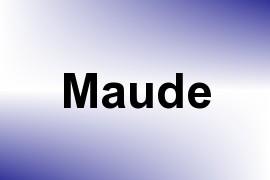 Maude name image