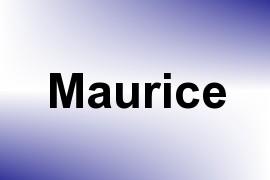 Maurice name image