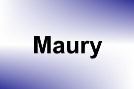 Maury name image