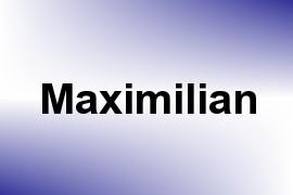 Maximilian name image