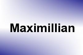 Maximillian name image