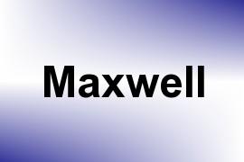 Maxwell name image