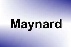 Maynard name image