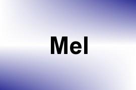 Mel name image