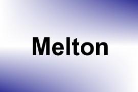 Melton name image
