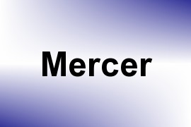 Mercer name image