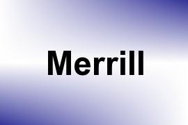 Merrill name image