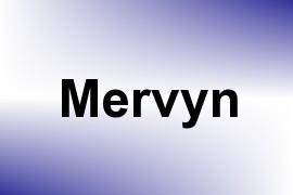 Mervyn name image