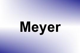 Meyer name image