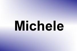 Michele name image