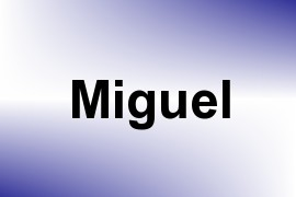 Miguel name image