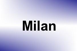 Milan name image