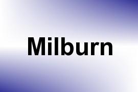 Milburn name image