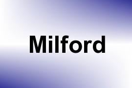 Milford name image