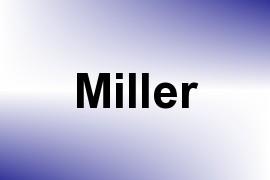 Miller name image