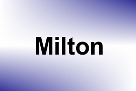 Milton name image