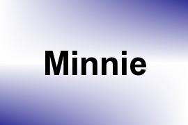 Minnie name image