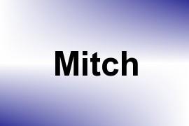 Mitch name image