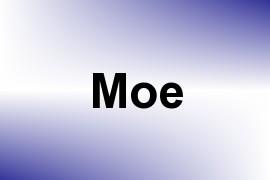 Moe name image