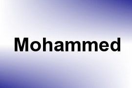 Mohammed name image