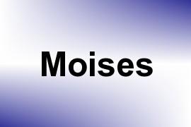 Moises name image