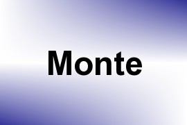Monte name image