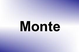 Monte name image