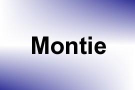 Montie name image