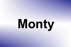 Monty name image