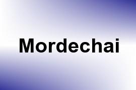Mordechai name image