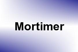Mortimer name image