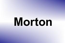 Morton name image