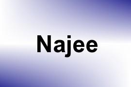 Najee name image