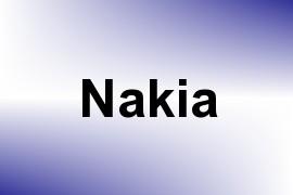 Nakia name image