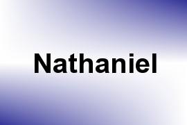 Nathaniel name image