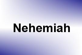 Nehemiah name image