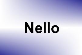 Nello name image