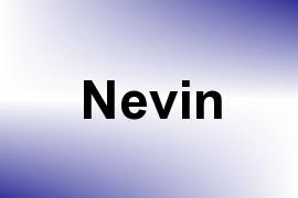 Nevin name image