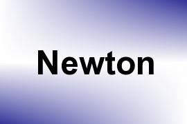 Newton name image