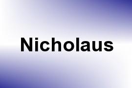 Nicholaus name image