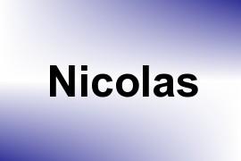 Nicolas name image