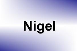 Nigel name image